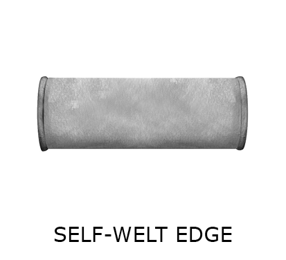 bolstr self-welt edge
