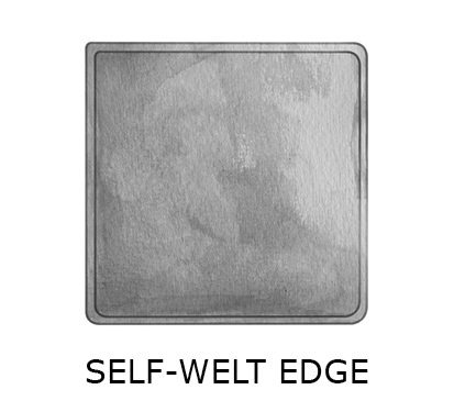 sq self-welt edge